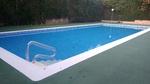 reparación piscina con pvc imitacion gresite