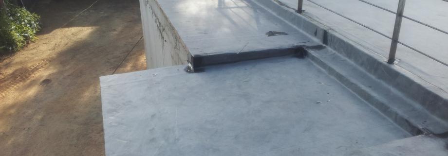 impermabilización terraza con lamina epdm